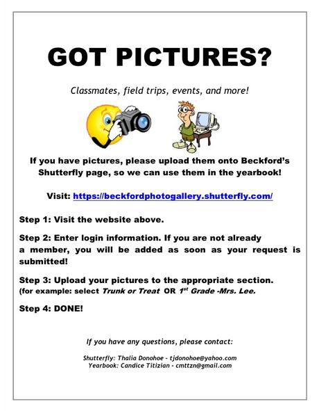 click to visit Beckford's Shutterfly Gallery